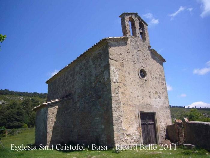 Església de Sant Cristòfol - Navès