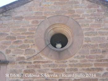 Església de Sant Esteve de la Colònia Soldevila – BalsarenyA