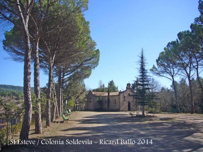 Església de Sant Esteve de la Colònia Soldevila – Balsareny