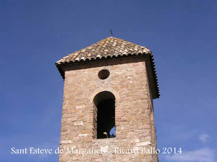 Església de Sant Esteve de Marganell - Campanar.