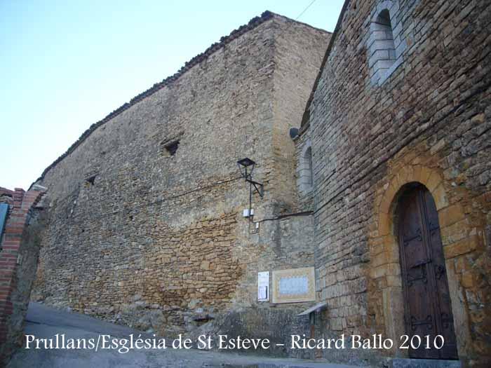 Església de Sant Esteve de Prullans