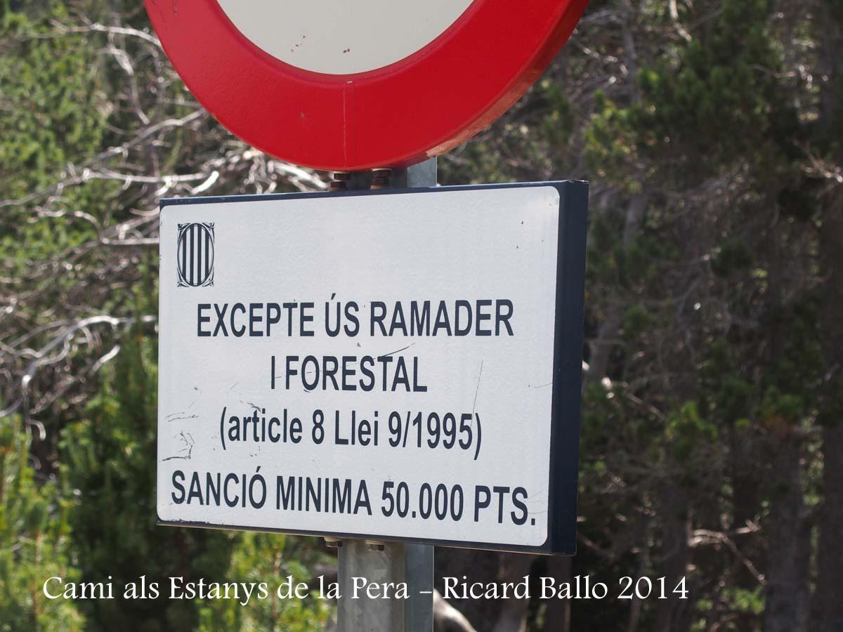 Camí als Estanys de la Pera - Lles - La Cerdanya
