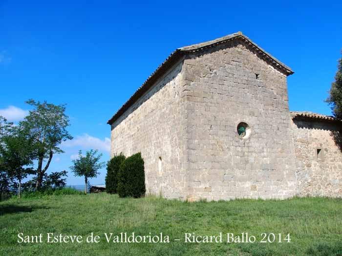 Església de Sant Esteve de Valldoriola – Sagàs