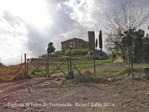 Església de Sant Feliu de Terrassola – Santa Maria d'Oló