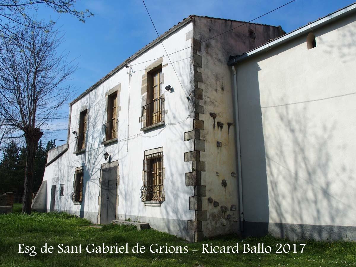 Església de Sant Gabriel de Grions – Sant Feliu de Buixalleu