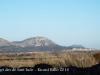 Vistes del castell de Montgrí, des de l'Església de Sant Iscle i Santa Victòria – Serra de Daró