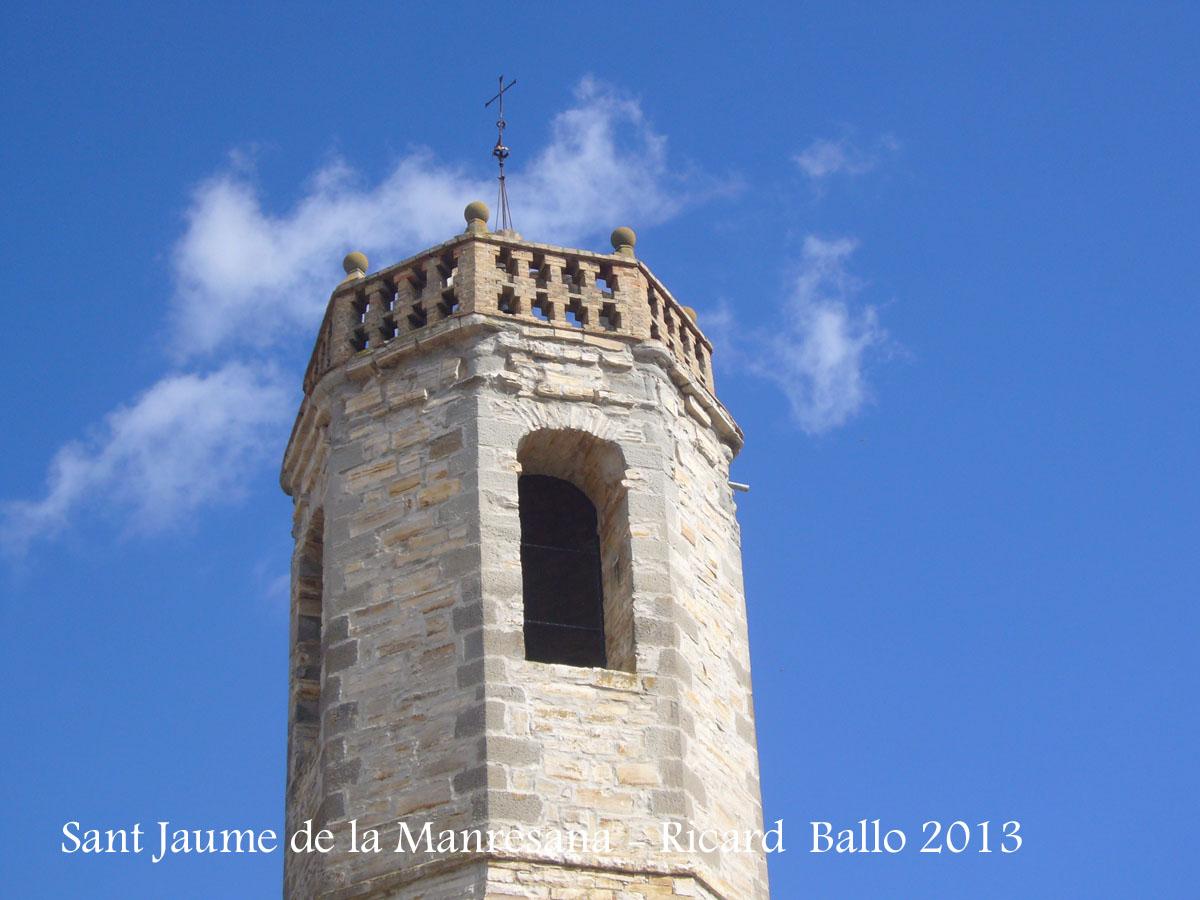 Església parroquial de Sant Jaume de la Manresana