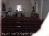 Església de Sant Jaume de Puigpalter – Banyoles - Fotografia obtinguda de forma ben precària, introduint l'objectiu de la màquina de retratar a través de la petita obertura rodona, que hi ha a la porta d'entrada