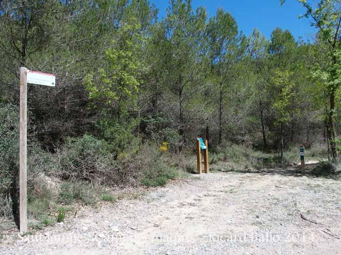 Camí a l'Església de Sant Jaume de Vallhonesta – Sant Vicenç de Castellet
