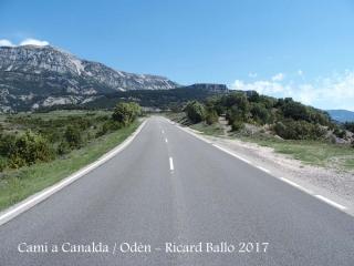 Camí a l\'església de Església de Sant Joan de Canalda – Odèn