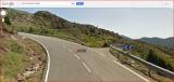 Església de Sant Joan de Cornudell - Captura de pantalla de Google Maps - La foto està presa en sentit contrari al que es descriu al text de l'itinerari.