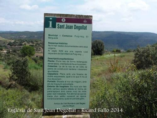 Església de Sant Joan Degollat – Puig-reig