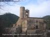 Església de Sant Julià de Coaner – Sant Mateu de Bages - Darrere, apareix la torre de l\'antic Castell de Coaner.