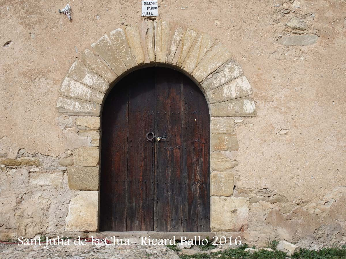 Església de Sant Julià de la Clua – Artesa de Segre