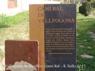 Vallfogona de Ripollès - Camí Ral.
