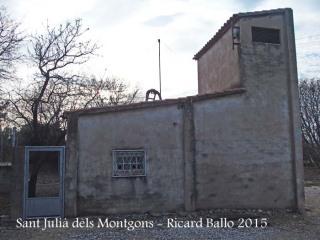 Església de Sant Julià dels Montgons – La Canonja - Hem aparcat al davant d'aquesta caseta