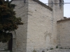 Església de Sant Julià d\'Estaràs - Part posterior - Aquí veiem, a la dreta, l\'antiga porta d\'entrada, tapiada.