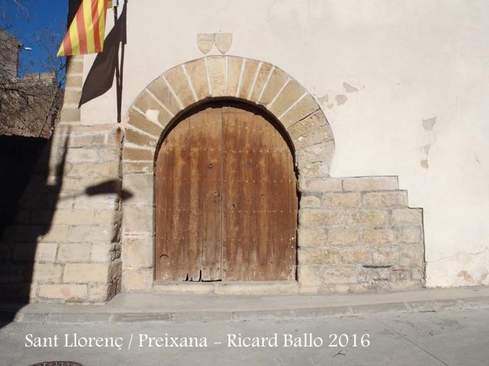 Església de Sant Llorenç – Preixana