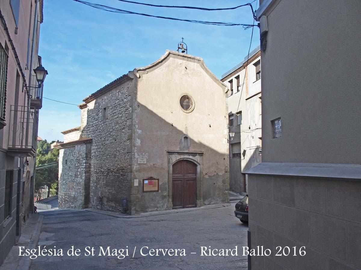 Església de Sant Magí – Cervera
