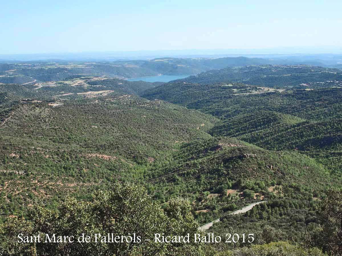 Vistes des de l' Església de Sant Marc de Pallerols de Rialb – La Baronia de Rialb