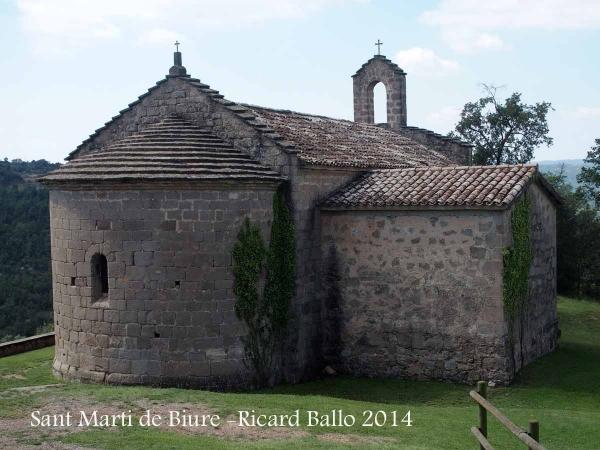 Església de Sant Martí de Biure - Sagàs