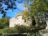 Església de Sant Martí de Brocà – Guardiola de Berguedà - En primer terme, l'antic cementiri.