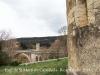 Vistes des de l'Església de Sant Martí de Capellada – Besalú - En primer tertme, el pont nou. Al darrere, el Pont medieval