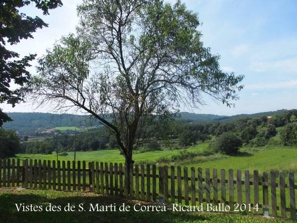 Vistes des de l'Església de Sant Martí de Correà – L'Espunyola