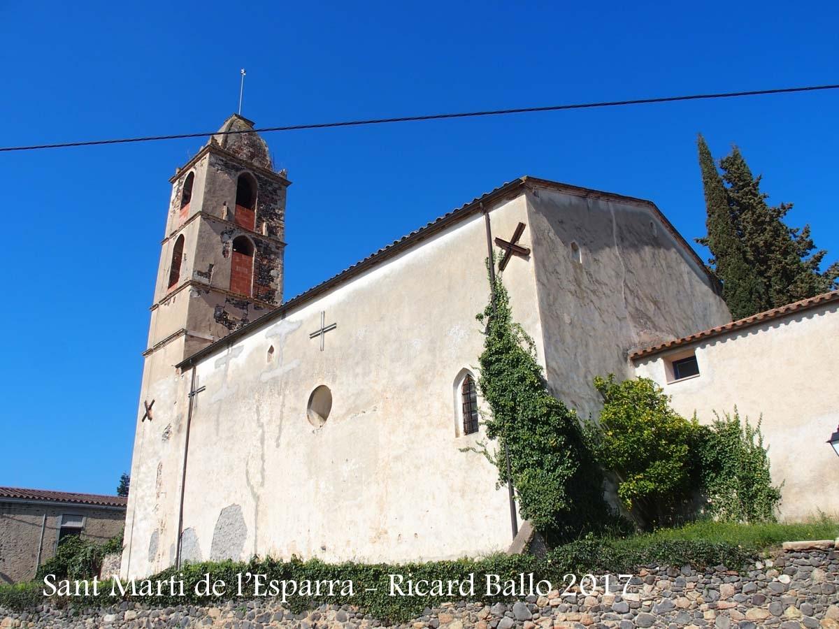 Església de Sant Martí de l'Esparra – Riudarenes