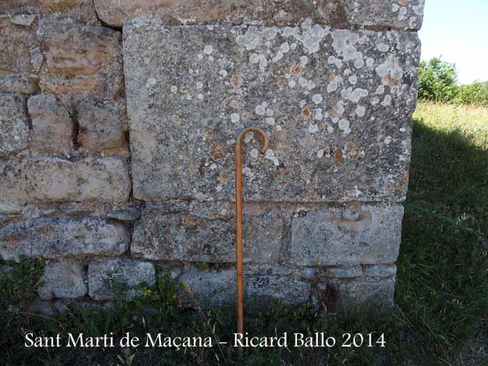 Església de Sant Martí de Maçana – Rubió