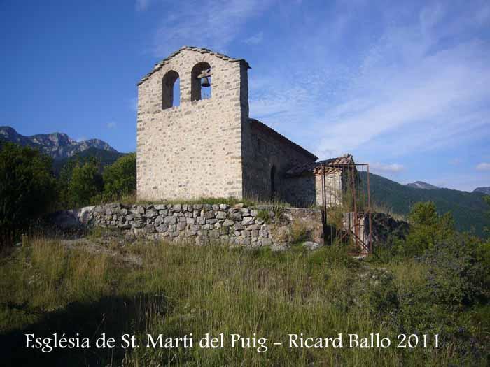 Església de Sant Martí del Puig de la Baga – Gisclareny