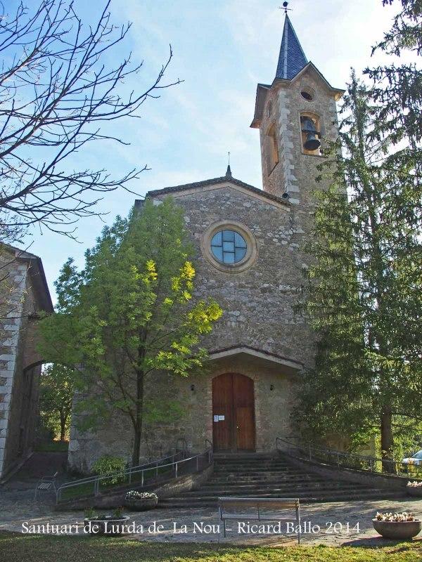 Santuari de la Mare de Déu de Lurda de La Nou de Berguedà