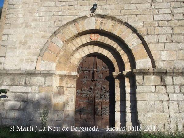 Església de Sant Martí – La Nou de Berguedà