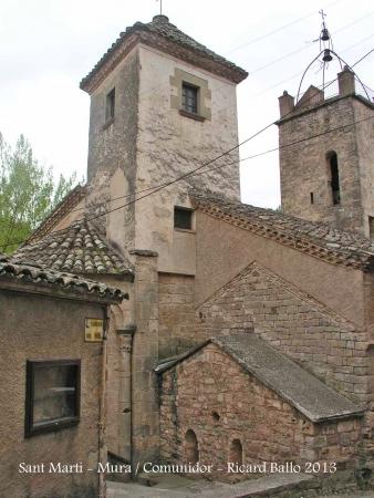 Església de Sant Martí - Mura - Comunidor.