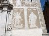 Església de Sant Martí – Sant Celoni - Detall esgrafiats