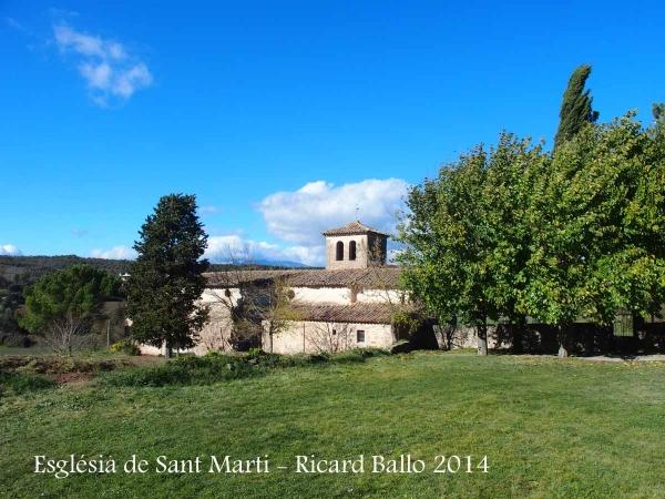Església de Sant Martí – Santa Maria de Merlès