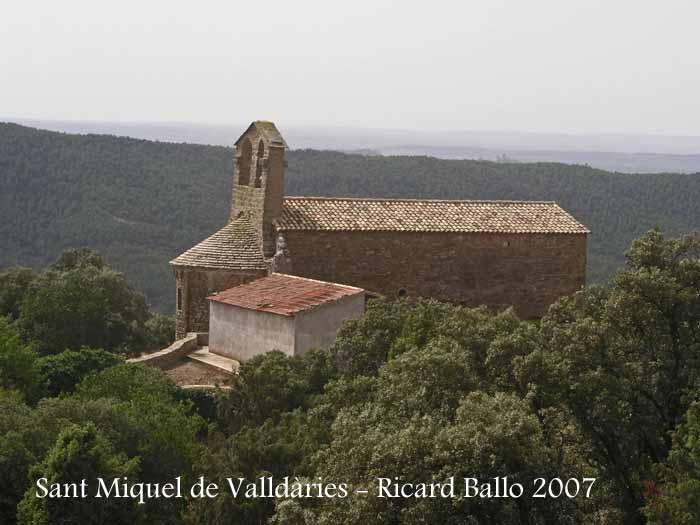 Església de Sant Miquel de Valldàries – Vilanova de l'Aguda.