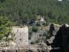 Església de Sant Miquel del castell de Marmellar - Les cases de la urbanització s\'acosten al castell ...