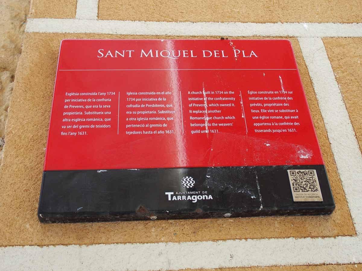 Església de Sant Miquel del Pla – Tarragona