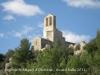 Església de Sant Miquel d'Olèrdola - Vista des d\'una perspectiva diferent.