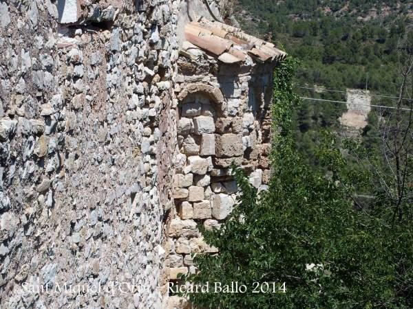Església de Sant Miquel d'Orpí - Bages - Absis romànic.