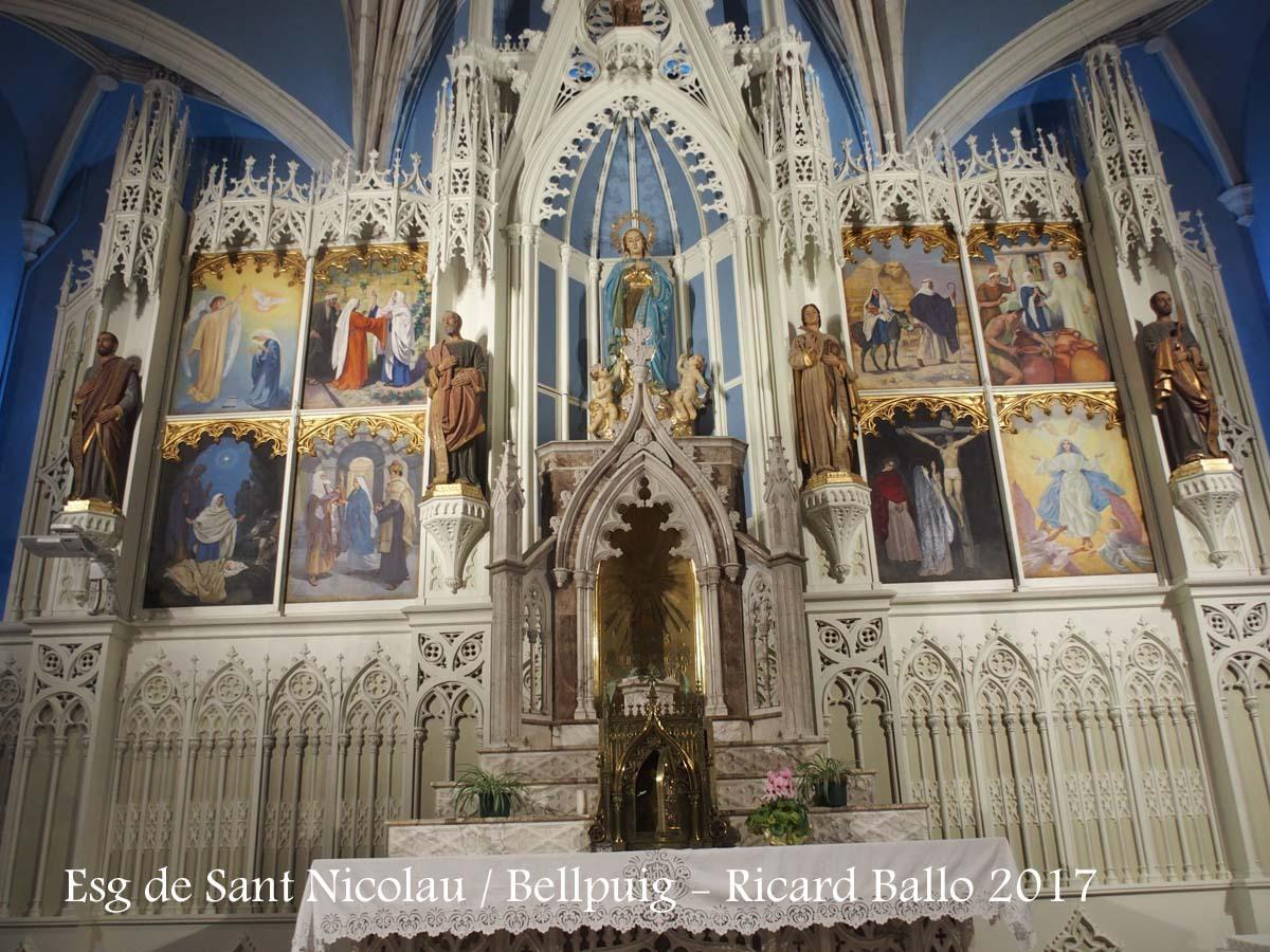 Església de Sant Nicolau - Bellpuig
