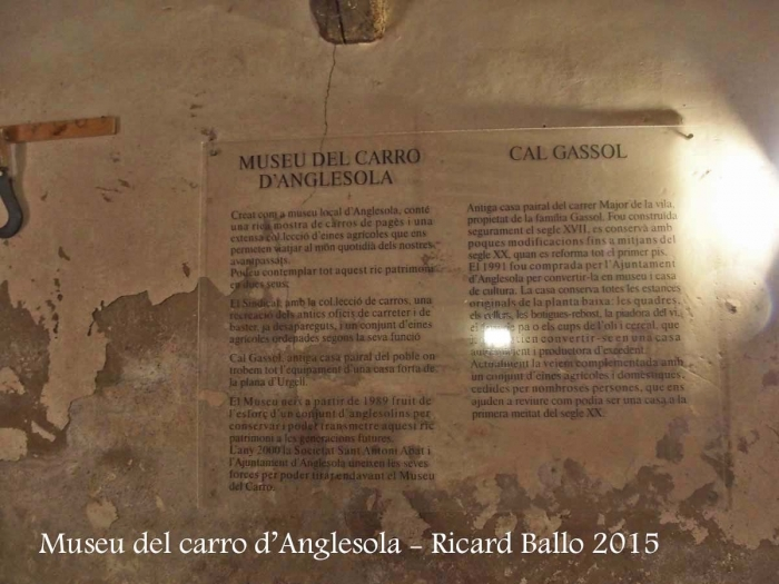 Anglesola - Cal Gassol