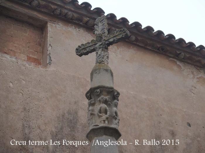 Anglesola - Creu de terme