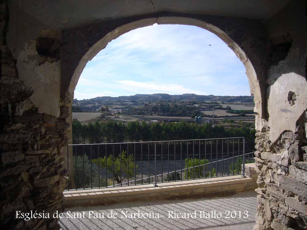 Església de Sant Pau de Narbona – Ribera d'Ondara / Segarra