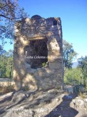 Església de Sant Pere Cercada – Santa Coloma de Farners - Camí - Capella de Sant Pere Petit.