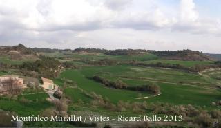 Vistes des de Montfalcó Murallat