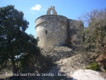 Església de Sant Pere de Savella - Absis.