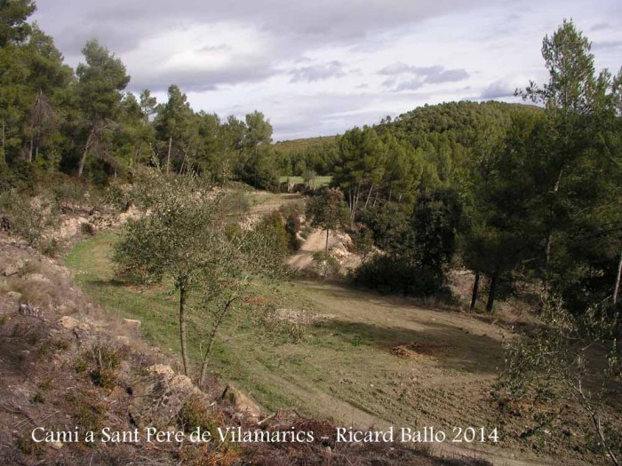 Vistes des de l'Església de Sant Pere de Vilamarics – Monistrol de Montserrat