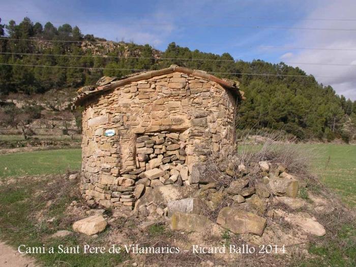 Camí a l'Església de Sant Pere de Vilamarics – Monistrol de Montserrat - Barraca de camp.